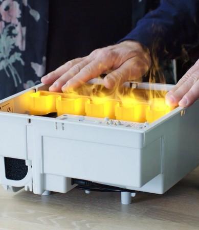 Elektrisk peis, hvordan virker den?